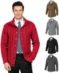 Men's Cardigan Knitting Coat, AUD $21.41 (~USD $14.63) @ Paul Jones