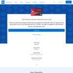 Velocity Escape AmEx - 12500 Velocity Points with $750 Spend in 3 Months ($0 Annual Fee)