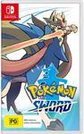 [Switch] Pokemon Sword or Shield $62 + Delivery (Free C&C) @ JB Hi-Fi