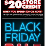 $20 Store Credit with $20+ Spend @ The Good Guys