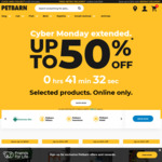 Petbarn 25% off All Food Black Friday Email Offer