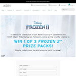 Win 1 of 3 Frozen 2 Bedding & Cushion Prize Packs Worth $340 from Adairs