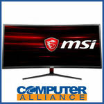 "MSI MAG341CQ 34"" Gaming Monitor (100hz FreeSync VA UWQHD) $560.15 + $15 Delivery (Free with eBay Plus) @ Computer Alliance eBay"