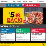 Value Range Pizzas $3.30ea Pickup 12pm-2pm @ Domino's