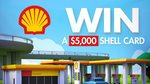 Win 1 of 24 $5,000 Shell Fuel Cards from Seven Network