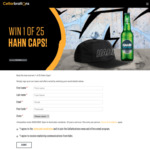 Win 1 of 25 Hahn Surf Caps Worth $25 from Cellarbrations/The Bottle-O/IGA Liquor