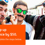 Deposit $1,000+ a Month into Orange Everyday for Two Consecutive Months and Get $50 Bonus @ ING