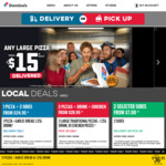 Buy 1 New Yorker, Premium or Traditional Pizza & Get 1 Traditional Pizza for $1 @ Domino's