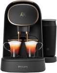 L'or Barista Capsule Coffee Machine & Milk Premium Black $139 Delivered @Myer