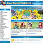 10,000+ Free Printable Maths, Science, Reading, Writing & Other Resources for Pre-Kindy - Year 5 @ Super Teacher Worksheets