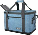 Soft Sided Collapsible Cooler Bag 40-Can / Large Reusable Grocery Bag $31.99 (20% off) Delivered @ Haptim Amazon AU
