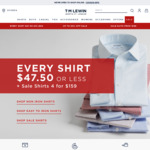 T.M.Lewin - Extra 30% off