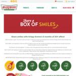 Free Dozen Original Glazed Doughnuts to Anyone Celebrating Birthday in Lockdown (13/3-13/7) @ Krispy Kreme