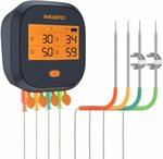 Inkbird Wi-Fi Meat Thermometer IBBQ-4T $100 Delivered (Was $125) @ LerwayDirect via Amazon AU