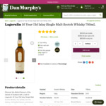Lagavulin 16 Year Old Scotch Whisky 700ml $99.90 @ Dan Murphy's