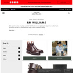 RM Williams Sale: Jerrawa Belts $82, Comfort All Rounder Boots $395, Adelaide $450 + Freight @ Everything Australian