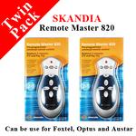 Twin Pack Skandia Universal Remote Master 820 $5.00 + shipping