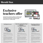 Full Digital Access to Newscorp Papers for Students and Teachers $2/Week @ Newscorp
