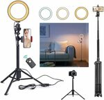 40% off Ring Light with Tripod Stand $39.96 Delivered @ Ottertooth Direct via Amazon AU