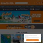 $10 off $50 Min Spend (New Customers) @ Anaconda