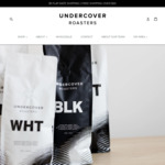 40% off When You Purchase 1kg of Coffee or More (Free Shipping over $50) @ Undercover Roasters