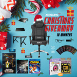Win 1 of 10 Gaming Prize Packs from AKRacing's Christmas Giveaway