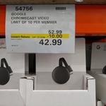 Google Chromecast 3 $42.99 @ Costco (Membership Required)