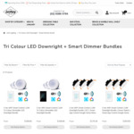 3CT Downlights + Smart Wi-Fi Switch Bundles from $89.71 Delivered @ Lectory