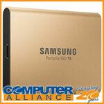 [eBay Plus] Samsung T5 1TB SSD Rose Gold $134.10 Delivered @ Computer Alliance eBay