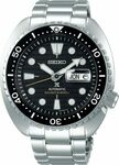 Seiko Prospex Black King Turtle Automatic Dive Watch SRPE03K $489 (RRP $999) Delivered @ Starbuy