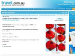 China Southern Airlines - Buy One Get One Free to China (Economy) Perth/Mel/Syd