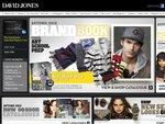 "David Jones Floor & Warehouse Runout on TVs Samsung 40"" from $399"
