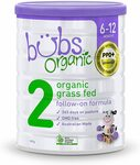 Bubs Organic Grass Fed Follow On Formula 800g $9 + Delivery ($0 with Prime/$39 Spend) @ Amazon AU