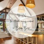Win 1 of 2 Two Night Stays in Byron Bay, Restaurant Voucher, Gifts (Worth $5000) from Your Luxury Escape