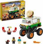 LEGO Creator 3in1 Monster Burger Truck 31104 Building Kit $40 Delivered @ Amazon AU