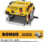 Dewalt 1800W Thicknesser DW735-XE $999 + Delivery @ Bunnings