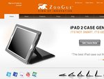 20% off or Free Accessories from ZooGue Genius Leather Case for New iPad