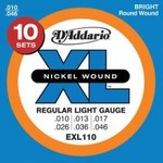D'Addario 10 Pack Electric Strings 10-46 - $39.99 - FREE POST - Worth $130 - 69% OFF