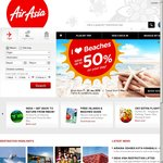 AirAsia Seats Sale (from RM26; Seats Are Said to Be Free but Taxes and Other Charges Apply)