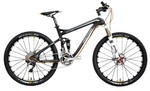 Polygon Collosus CRX Shimano XTR 2x10 - Carbon Fibre Dual Suspension Mountain Bike $2998