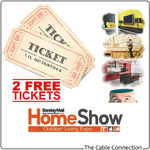 2x FREE Tickets to Sunday Mail Brisbane Home Show - from The Cable Connection