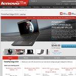 ThinkPad Edge E531 Laptop $616 Inc Delivery