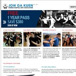 1 Year Free Pass to All Our Kung Fu Classes [Melbourne Only] - Jow Ga Kuen