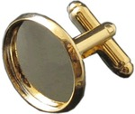 Personalized Photo Cufflinks (Gold) Only $4.98 with Gift Bag - Delivered @ Matchless Store