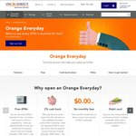 ING Direct Orange Everyday - All Australian ATM Fees Rebated + 2% Paywave Cashback ($1,000 Monthly Deposit Required)