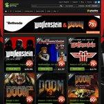 [Steam] Wolfenstein: The New Order - $24,   Doom 3 - $1.75,    Doom3:ROE - $1.75,   RtCW - $1.92 @ GMG