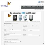 Free Freestyle Diabetic Meter for Diabetes Patients Only