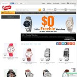 100+ Freebie Watches Just Pay Postage Cost @ Top Buy