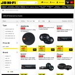 Car Sound Clearout @JB Hi-Fi. Pioneer 200W Multimedia Receiver & 200W Speaker Combo $70 + More