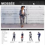 Free Scarf + Free Shipping at MOSSÉE.com (Min Spend $60)